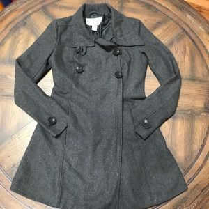 ❄️ Women's A line Pea Coat sz Small ❄️